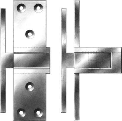 The Harmon Hinge E R Butler Amp Co