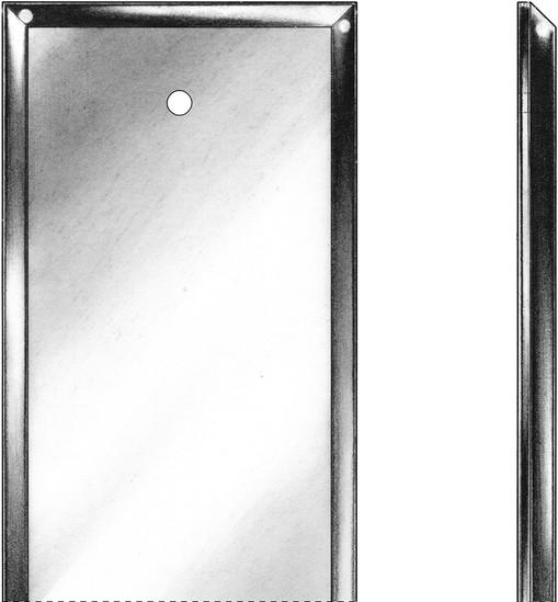 Beveled Glass Push Escutcheon Plates E R Butler Amp Co